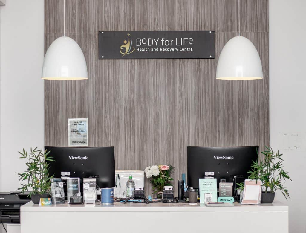 Body for Life reception