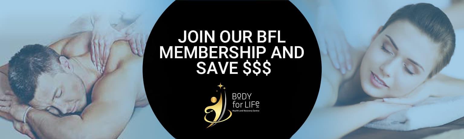 Body for Life Membership Banner